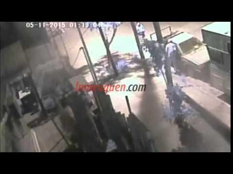 Así robaron un estéreo en barrio Belgrano