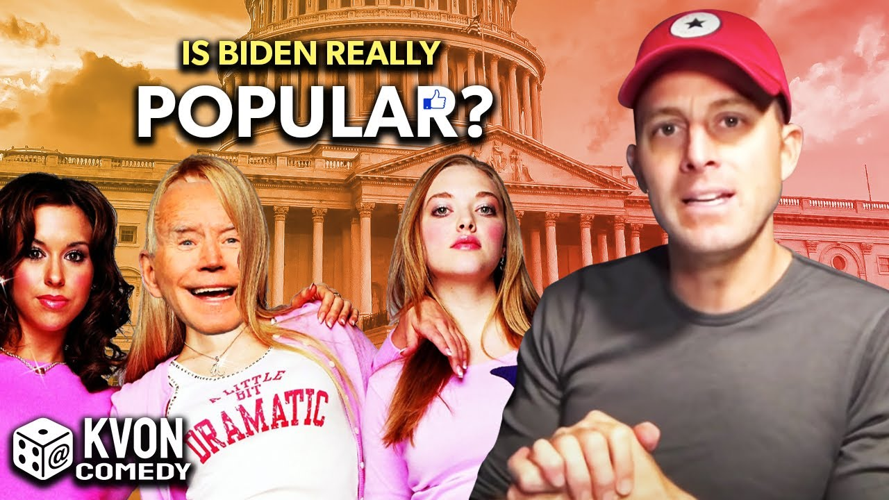 Could Biden Be The Most Popular Man of All Time?! (comedian K-von does a recount)