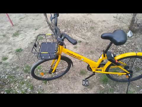 Велошеринг в Волгограде. Жёлтые велосипеды Mobee катаются по всему городу.