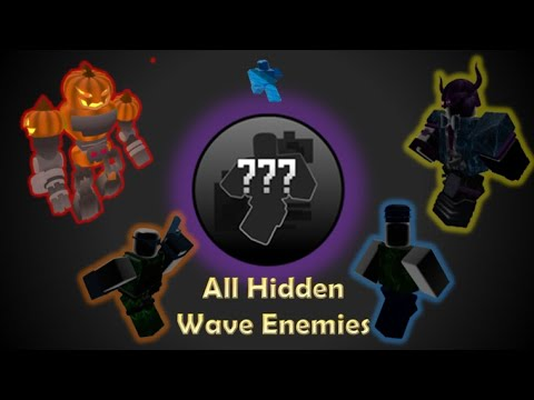 Every Hidden Wave Troop Tds Roblox Youtube