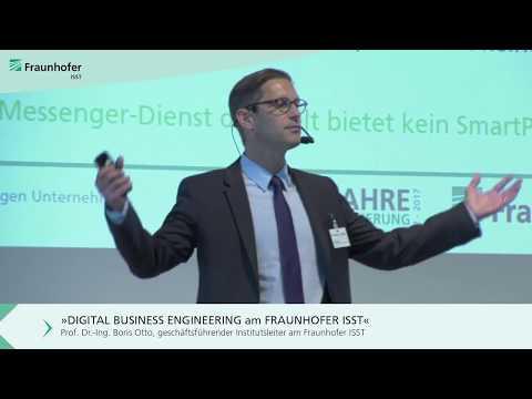 Vortrag Prof. Dr. -Ing. Boris Otto: »Digital Business Engineering«