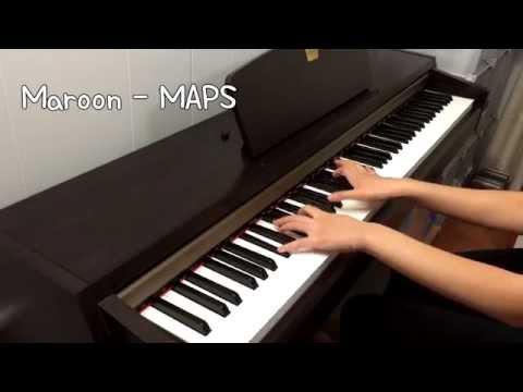 Maroon5 - Maps Piano Cover (Ft. 빅스 VIXX - On and On 다칠 준비가 돼 있어)
