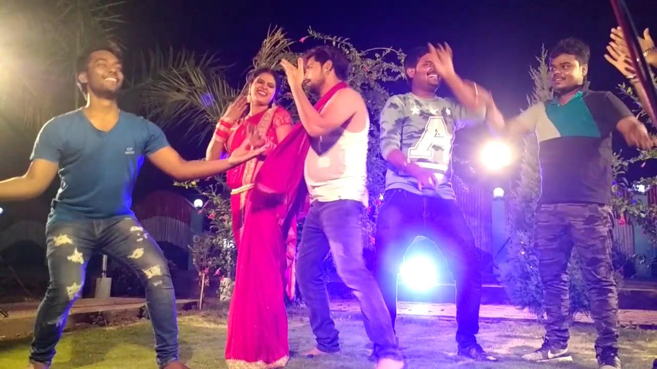 Royal Ravi #Rakesh Mishra#Chandni Singh DANCE ON SUPERHIT SONG कमर KE KLACH