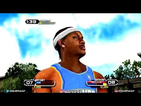 NBA Ballers In Crispy HD: 1v1 Braided Melo vs Kobe Best of 2 to 11 Last Video of 2017