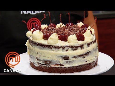 How To Make A Black Forest Cake In 80 Minutes! | MasterChef Canada | MasterChef World