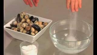 Technique de cuisine : Nettoyer des coquillages