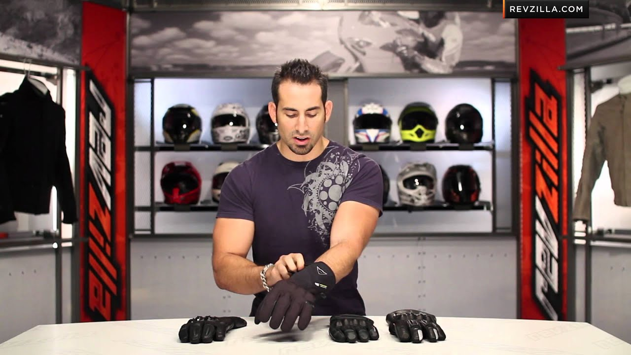 Motorcycle gloves guide - Winter Motorcycle Glove Guide 2012 At Revzilla Com