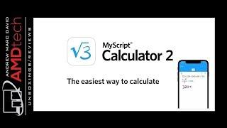 MyScript Calculator 2:  The Ultimate Calculator App for iOS