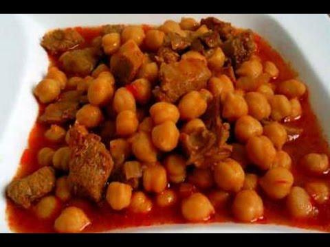 İyi pişmiş etli nohut yemeği tarifi-Nohut'un iyi pişmesinin püf noktası-Chickpea stew dinner