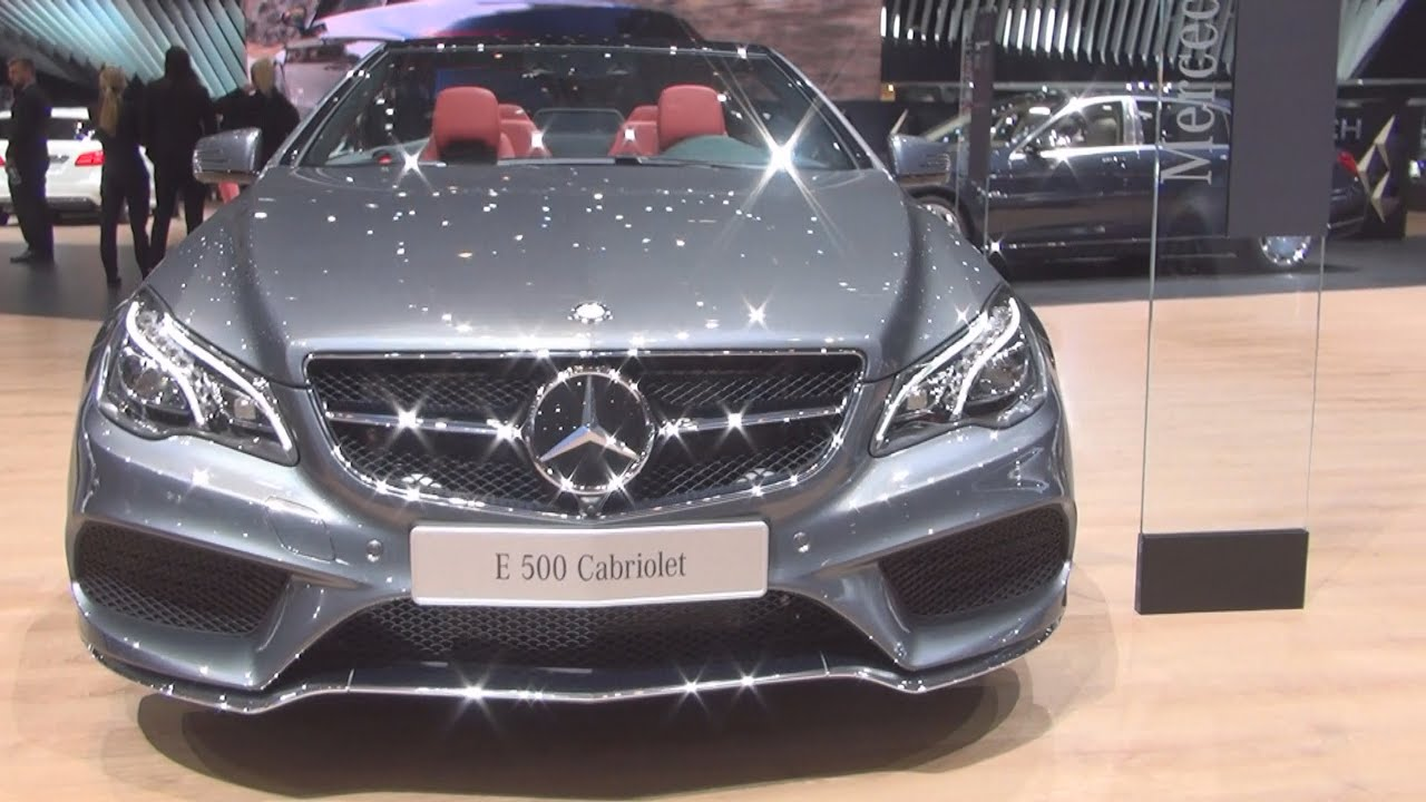 mercedes benz e 500 cabriolet v8 edition 2016 exterior and interior in 3d youtube. Black Bedroom Furniture Sets. Home Design Ideas