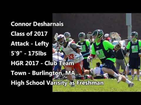 2015 Lacrosse Highlights Connor Desharnais