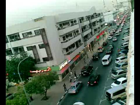Satwa Bus Stand At Sunset Youtube