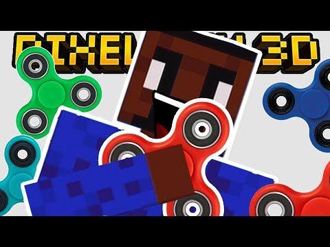 SECRET FIDGET SPINNER GADGET!! | Pixel Gun 3D