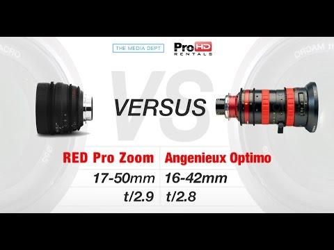"Red Zoom vs Angenieux Optimo ""Lens Test"""
