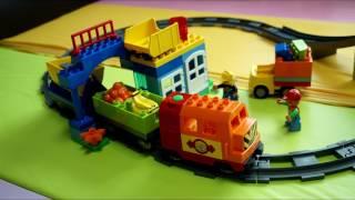 레고 듀플로 디럭스 기차세트 10508