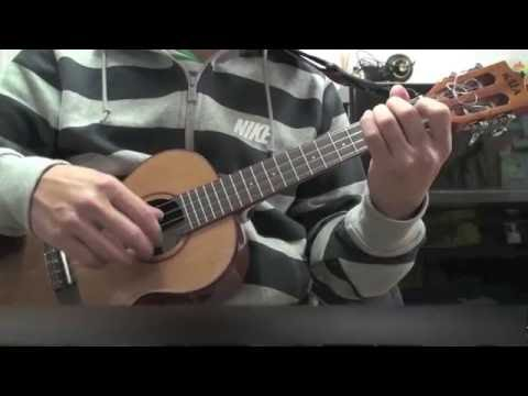 The Sound Of Silence Simon Garfunkel Ukulele Cover Youtube