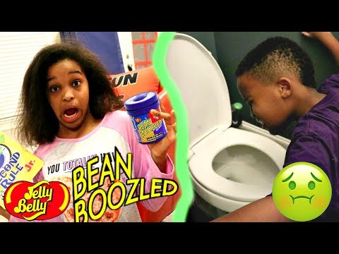 BEAN BOOZLED GONE WRONG?! - w/ Five Second Rule Toy Game - Onyx Adventures