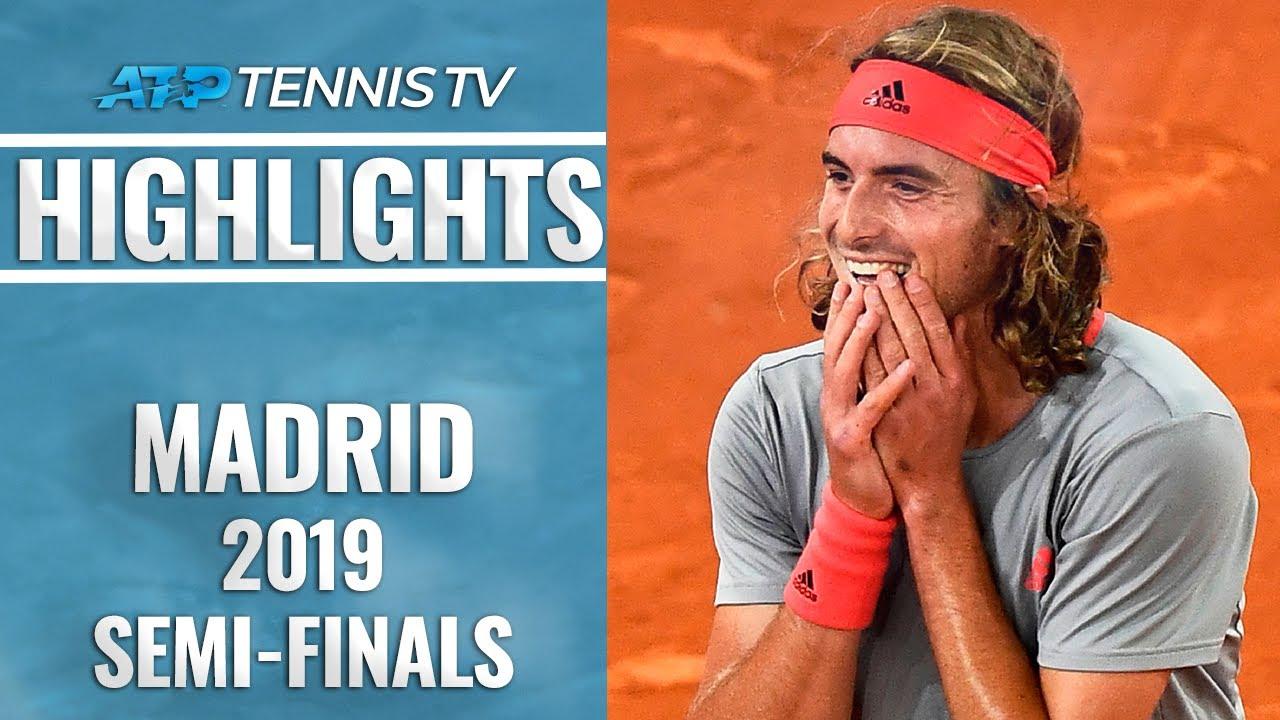 Tsitsipas Claims First Win Over Nadal: Djokovic Beats Thiem | Madrid Open 2019 Semi-Final Highlights