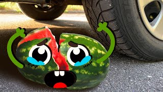 Download ASMR Crushing Crunchy & Soft Things by Car! - EXPERIMENT:  PEPPERS VS CAR Mp3 and Videos