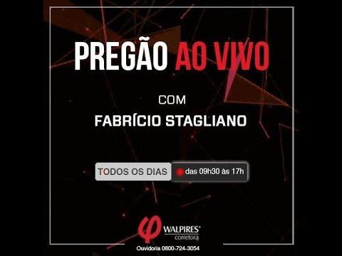 PREGÃO AO VIVO com Fabrício Stagliano, CNPI e REnata Guedes, CPA20/CEA