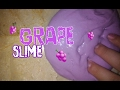 DIY GRAPE SLIME!