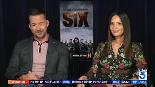 "Olivia Munn On Barry Sloane On Season Two of ""SIX"" on History"