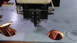 2019-5-19光纖雷射金屬切板機