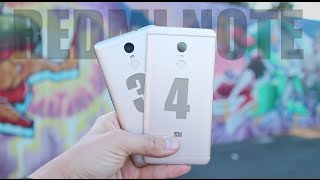 Redmi Note 4 & Redmi Note 3 PRO // СРАВНЕНИЕ XIAOMI