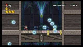 New Super Mario Bros Wii - All Warp Cannon Locations