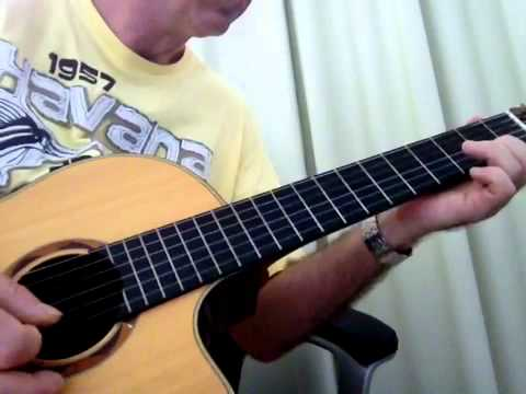 Sometimes When We Touch Rod Stewart Acoustic Guitar Youtube