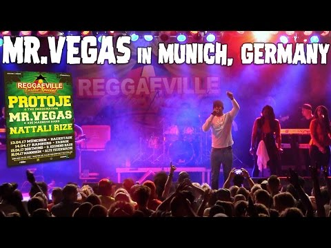 Mr. Vegas in Munich, Germany @Reggaeville Easter Special - April 13th 2017