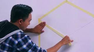 Avian Brands DIY Series #38 - Tembok Motif 3D