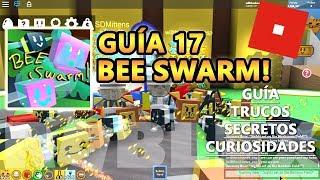 Bee Schwarm Simulator, ich bekomme Gummy Bee, SDMittens Cheats und Geheimnisse, Roblox Spanisch Tutorial Guide 17