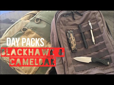 EDC Backpacks! BLACKHAWK! Diversion pack & Camelbak Quantico pack overview!