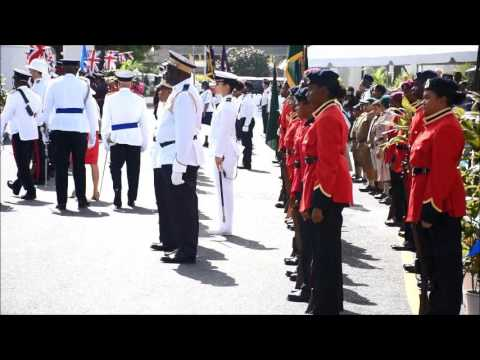 Queen's 90th Birthday Parade June 2016 Cayman Islands