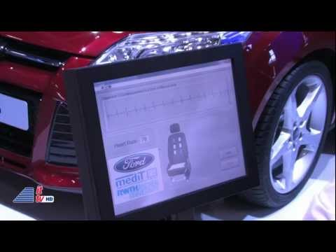 IFA 2011: Ford Heart Rate Monitoring Seat