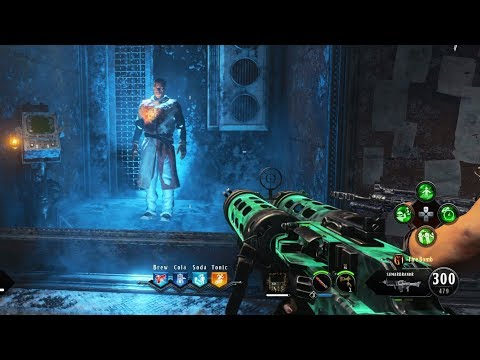 BLOOD OF THE DEAD FULL BOSS FIGHT AND BOTH EASTER EGG CUTSCENES! (Black Ops 4 Zombies)