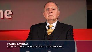 """Savona nel 2015: """"Con Lega e M5s al governo, speculazione internazionale come in Grecia"""""""
