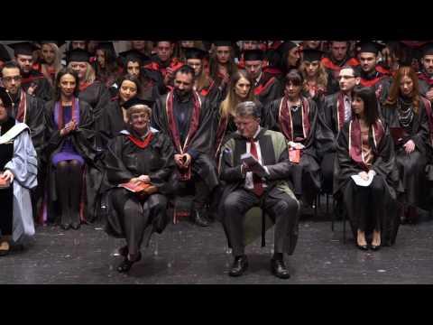 Mediterranean College Thessaloniki: Graduation Awards Ceremony Class of 2016