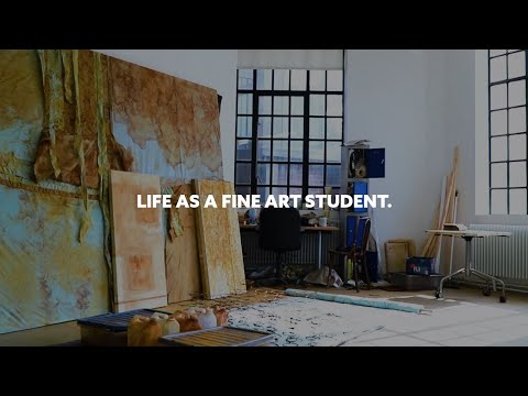 What's it like to study fine art at uni? | Northumbria University, Newcastle