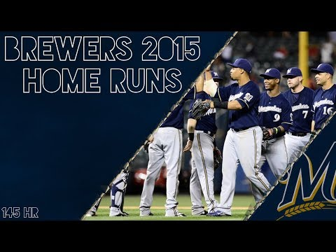 Milwaukee Brewers 2015 Home Runs