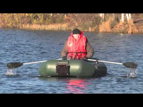 """Испытание гребной лодки """"Норвик 300Т"""""""