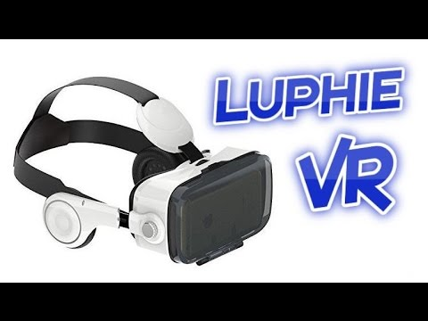 Luphie VR Virtual Reality Headset with Headphones Review