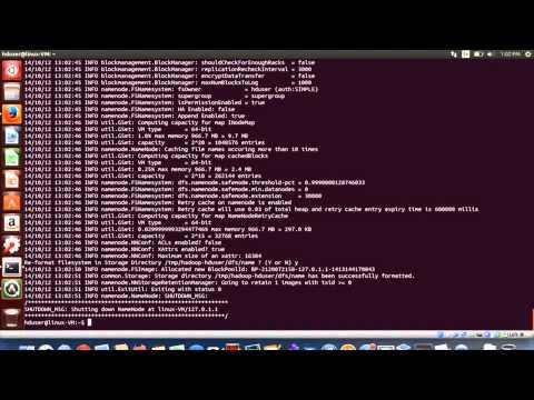 Installing Hadoop on Ubuntu 14.04 - YouTube