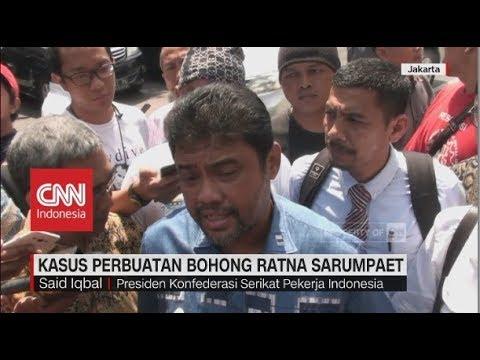 Said Iqbal Penuhi Panggilan Polisi terkait Kasus Kebohongan Ratna Sarumpaet