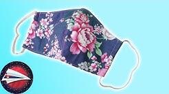 Sašiti zaštitnu masku: zaštitna maska od ostataka tkanine / Besplatni krojevi / Šivenje za početnike