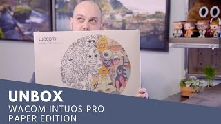 UNBOX: Wacom Intuos Pro (Large) Paper Edition