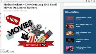 MadrasRockers – Download Tamil Movies On Madras Rockers