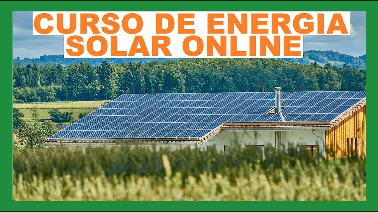 Veja Agora Como Instalar Energia Solar Em Um Curso Online De Energia Solar