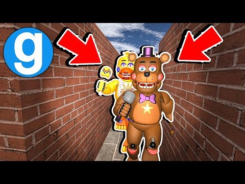 Brand New FNaF Rockstar Maze Run! [Garry's Mod Sandbox] Five Nights at Freddy's thumbnail